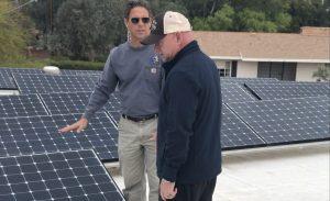 Mark Kelly and solar energy