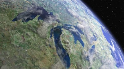The Great Lakes as viewed from space. Source: EPA