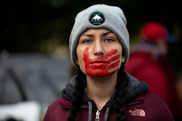 Fracking crews taken over by far-right three percenter militia spread rate of missing and murdered indigenous women MMIW
