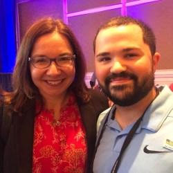 RepublicEN Spokesperson Tyler Gillette with Dr. Katharine Hayhoe