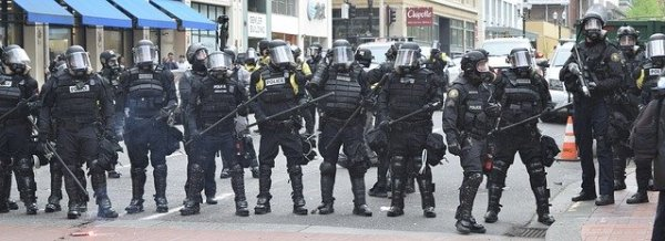 New Investigation Reveals How Fossil Fuel Giants Are Amplifying Militarized Police Forces