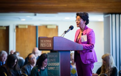 Peggy Shepard, co-founder and director of WE ACT for Environmental Justice, says the dearth of diversity in the environmental workforce is part of a far larger societal malaise. Photo courtesy of Peggy Shepard