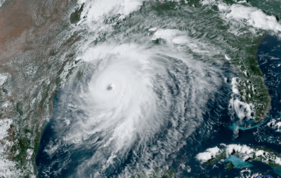 Hurricane Laura intensified quickly over the Gulf of Mexico before making landfall on Aug. 27, 2020. CSU/CIRA and NOAA/NESDIS, CC BY-ND