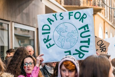 Fridays for the future Greta Thunberg climate change youth climate movement