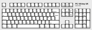 PC and VT100 Keyboard Layouts Compared  RedGrittyBrick