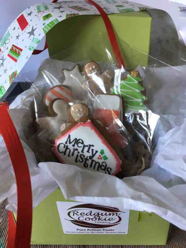 Small Xmas Box - Redgum Cookie Company