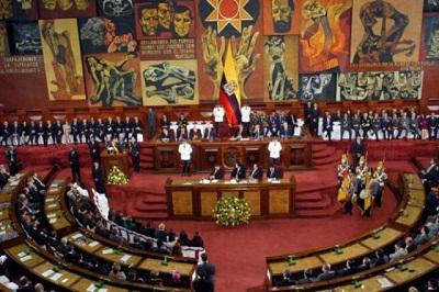 Resolución de la Asamblea Legislativa del Ecuador condenando al bloqueo norteamericano contra Cuba