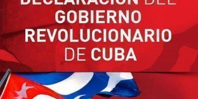 Declaración del Gobierno Revolucionario