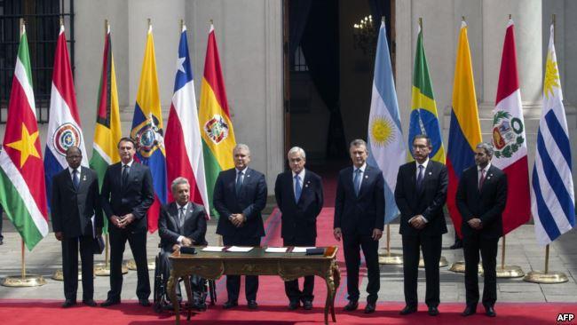 El Prosur: un organismo colonial y al servicio de la nueva doctrina Monroe. Por Miguel Ángel Barrios