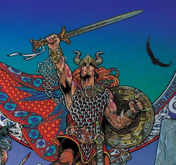 Nuada of the Silver Arm by Jim Fitzpatrick