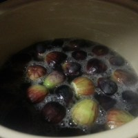 Figs Preserved in Honey Syrup