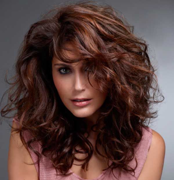 Auburn hair colors with chestnut highlights