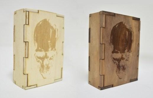 Tattoo wood box