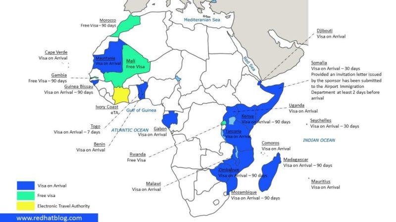 23 negara di afrika yang bisa dikunjungi tanpa visa