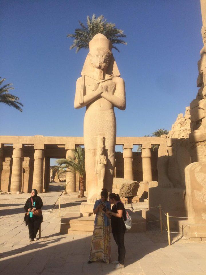 Ramses II statue
