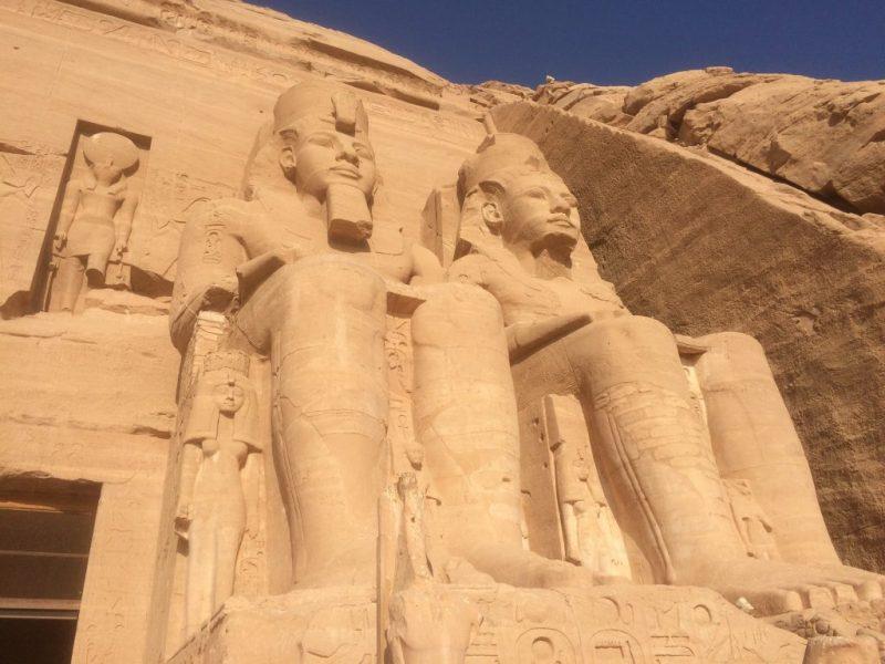 abu simble temple in aswan, egypt