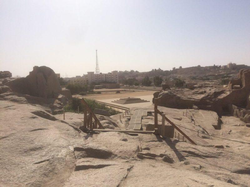 rock hill in unfinished obelisk area