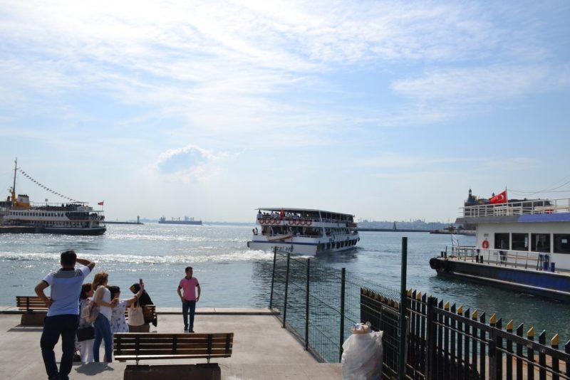 Cruise Ferry from Kadikoy Dock to Eminonu
