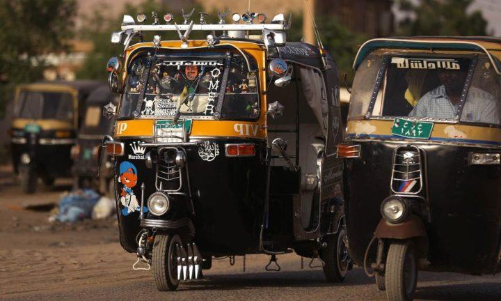 tuktuk in khartoum