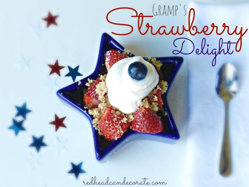 Gramps Strawberry Delight