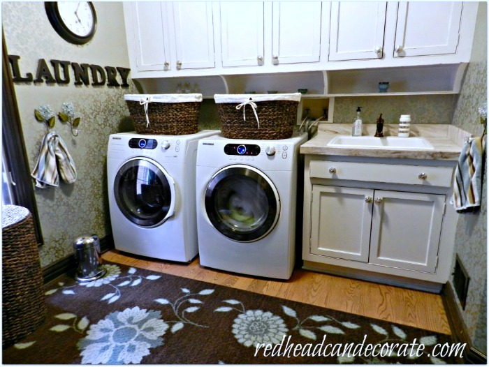 White Laundry:Mud Room