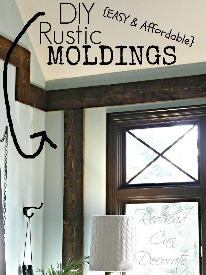 rustic moldings