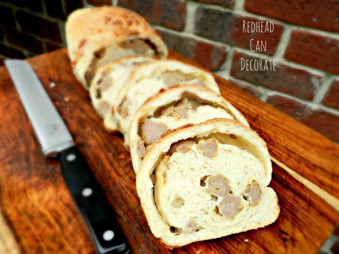 sausage bread 2