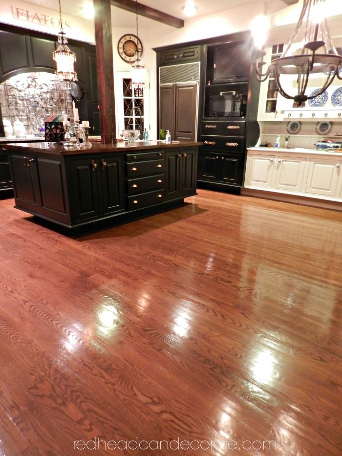No Sanding Non Toxic Wood Floor Refinishing Redhead Can