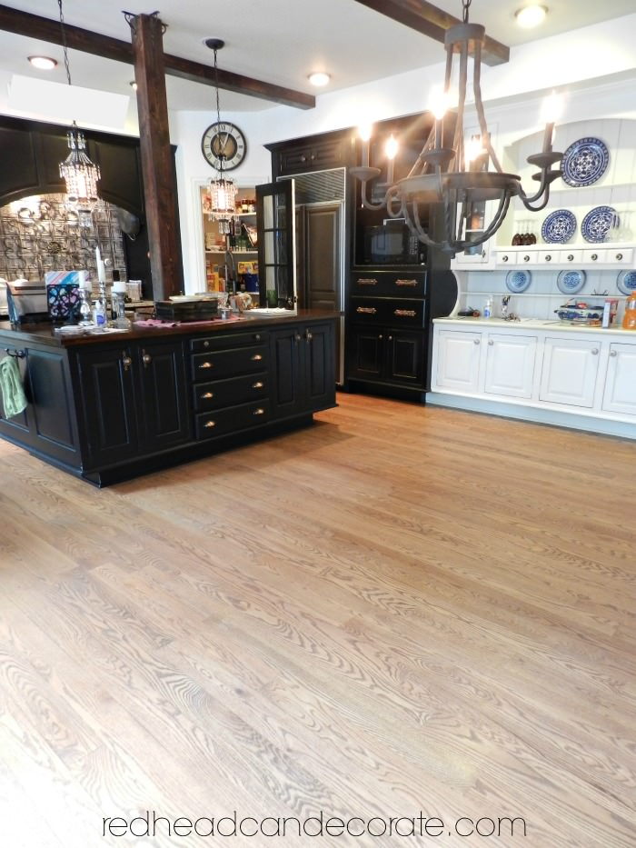 No Sanding Non Toxic Wood Floor Refinishing Redhead Can Decorate