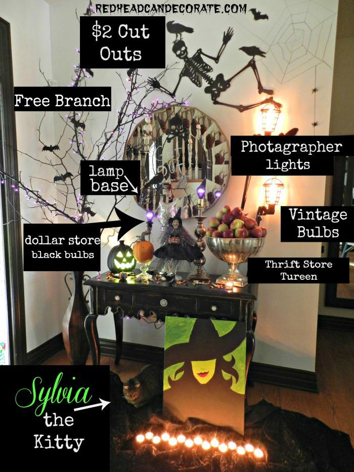 Halloween Foyer