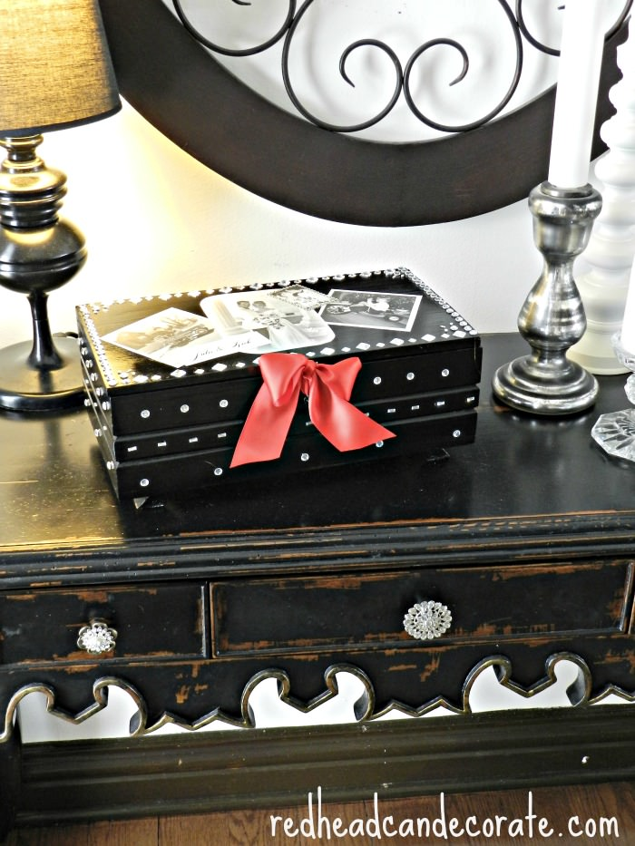 Beautiful (easy) Keepsake Box Idea