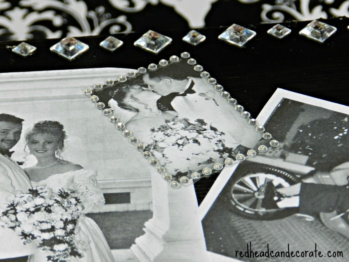 Easy Keepsake Box Idea from redheadcandecorate.com