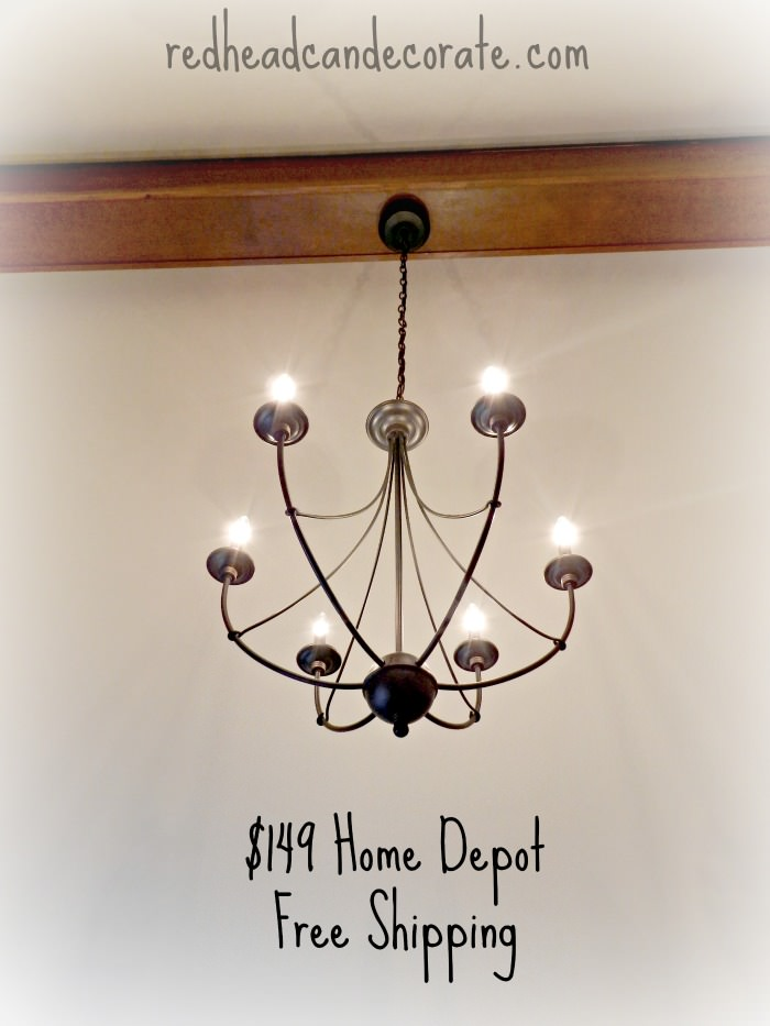 Rustic Light Fixture Bedroom Makeover For Teen Part 1 Redhead Can Decorate