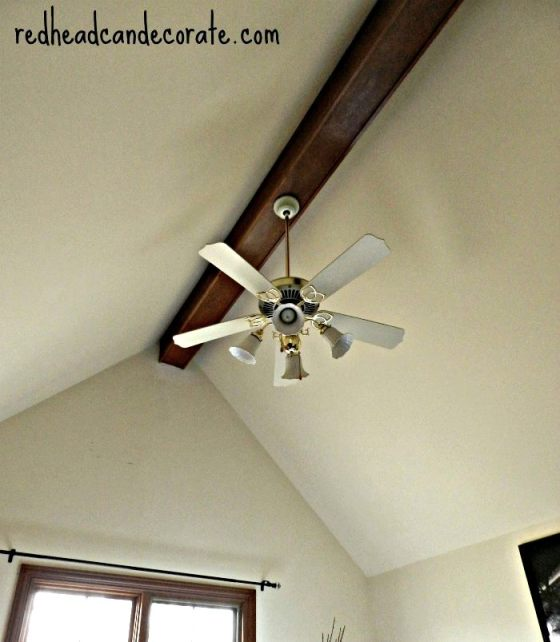 Ceiling Fan Makeover