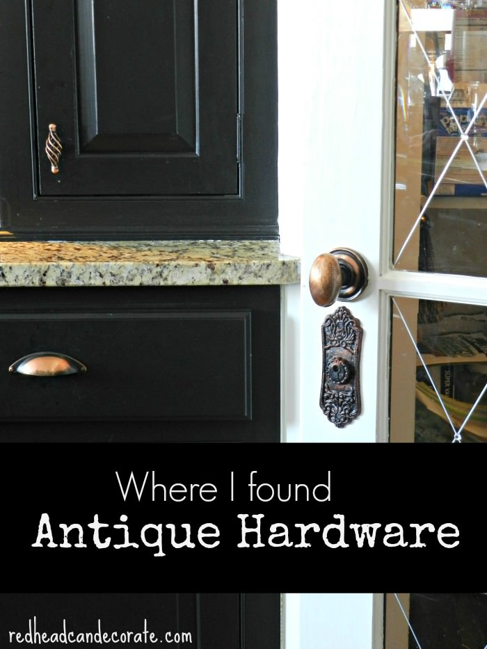 Antique Hardware · Pantry Door Hardware - Antique Hardware For Doors, Kitchen Cabinets, & Drawers - Redhead