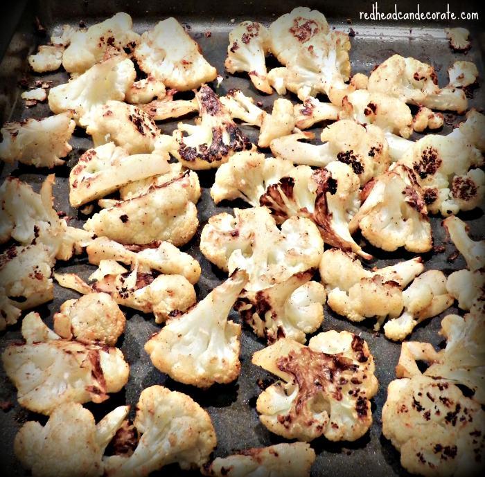 Roasted Cauliflower Recipe-Yum!