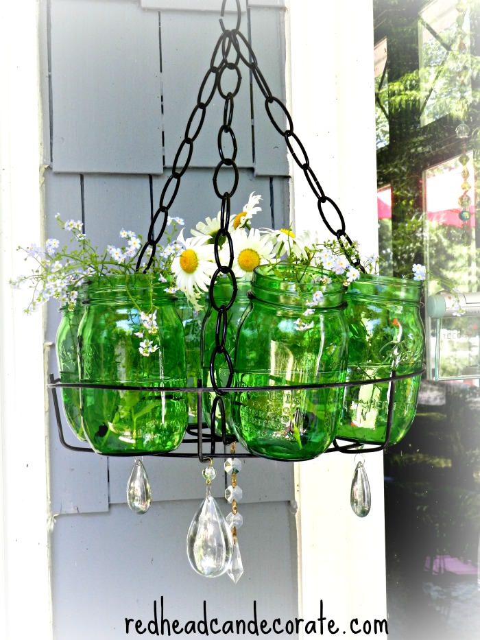 Ball Jar Chandelier