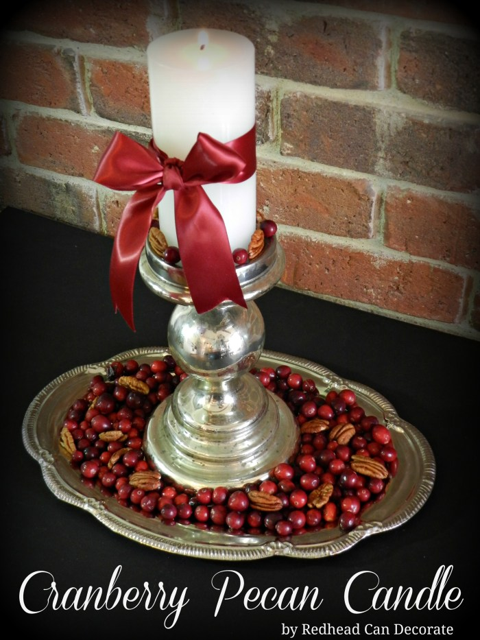 Cranberry Pecan Candle