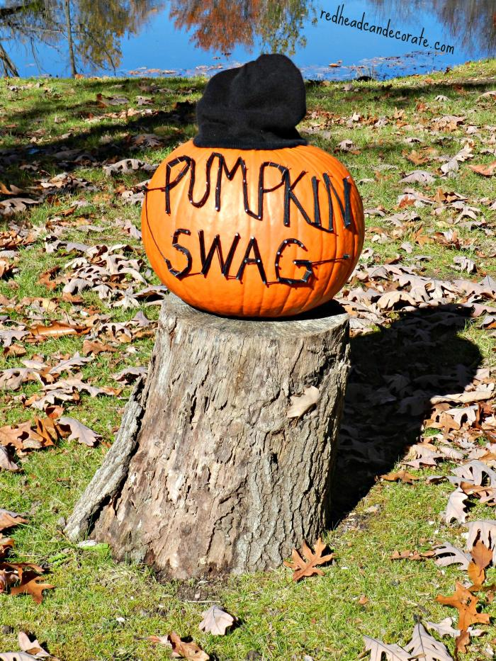 Easy Pumpkin Decor