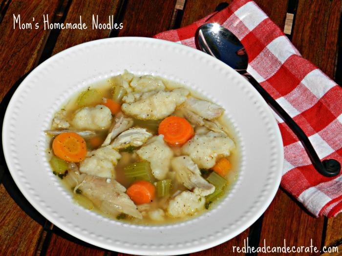 Homemade Noodles (bonus chicken soup recipe included)