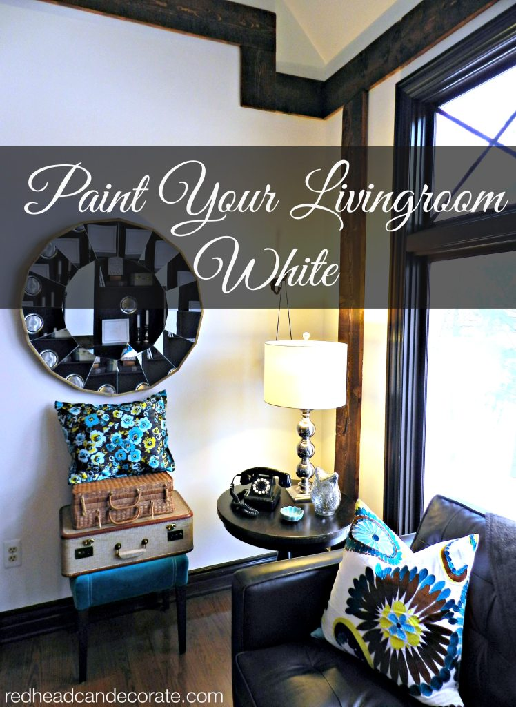 Paint your livingroom white!