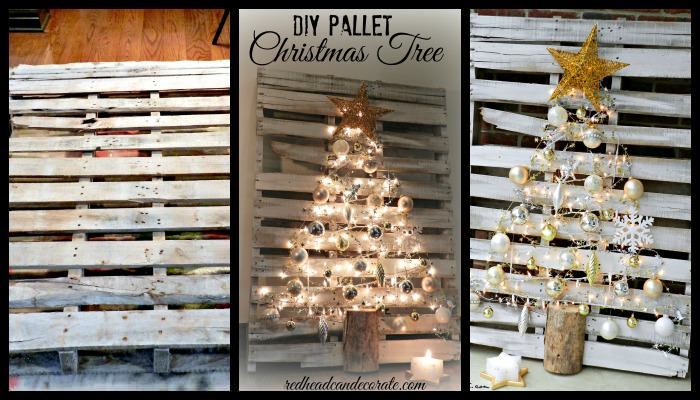 Pallet Tree Collage