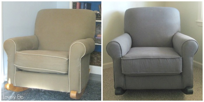 chair before and after
