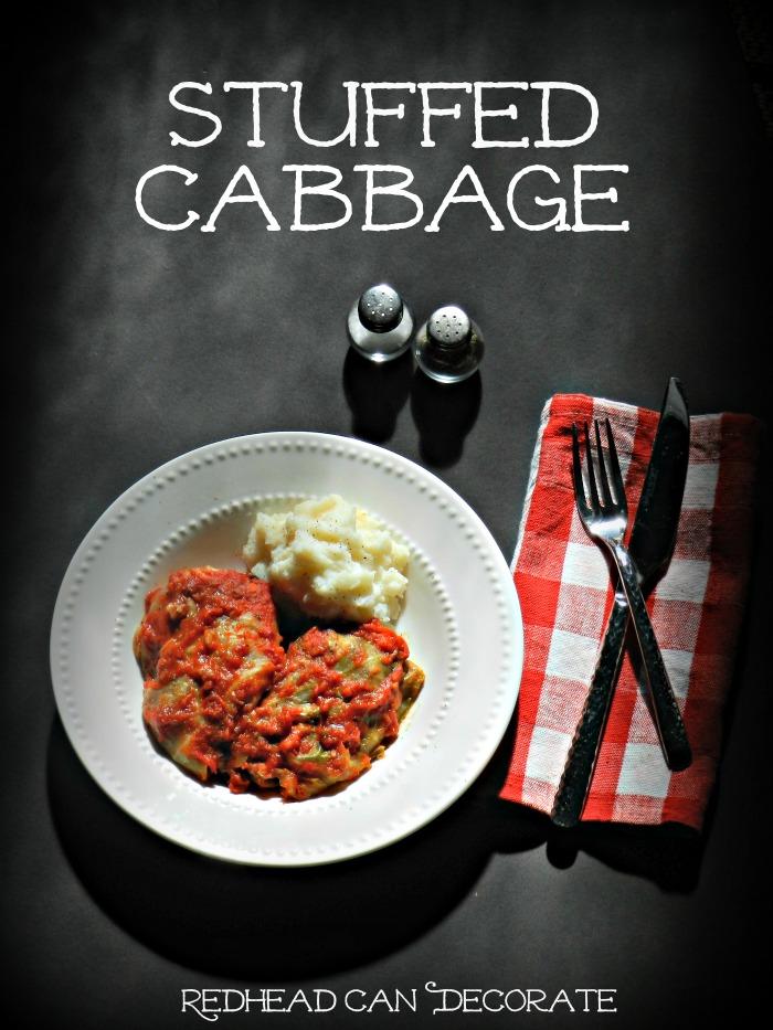 Best Stuffed Cabbage Recipe