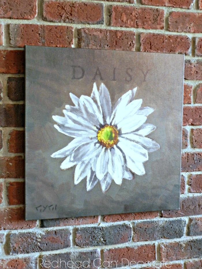 Daisy Wall Art