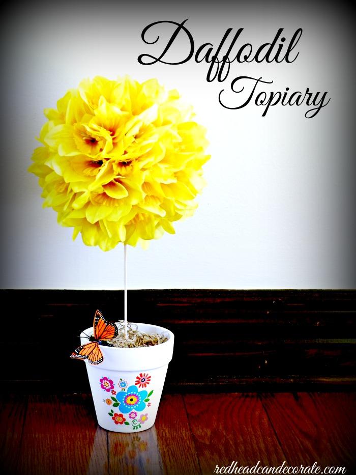 Daffodil Topiary Tutorial