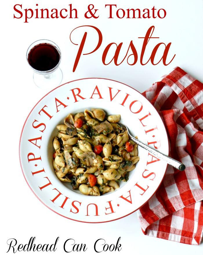 Spinach & Tomato Pasta
