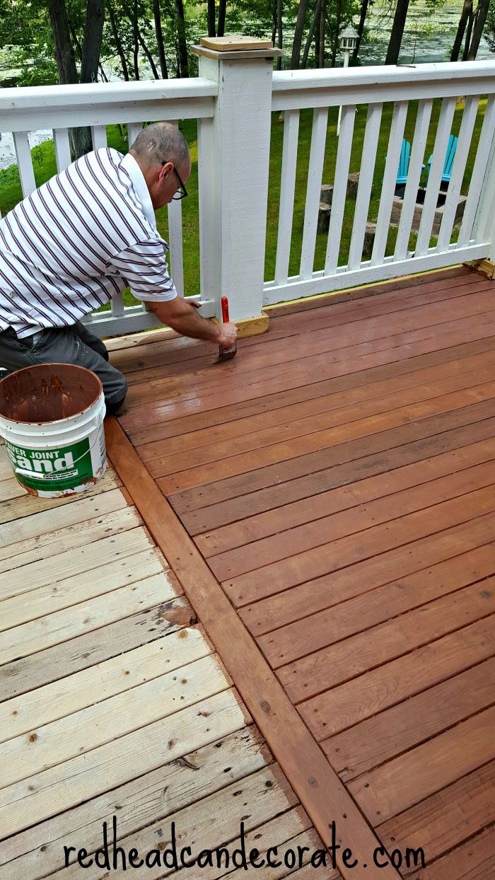 Amazing Deck Transformation Using Thompson's WaterSeal Products