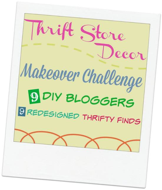 Thrift Store Decor Challenge