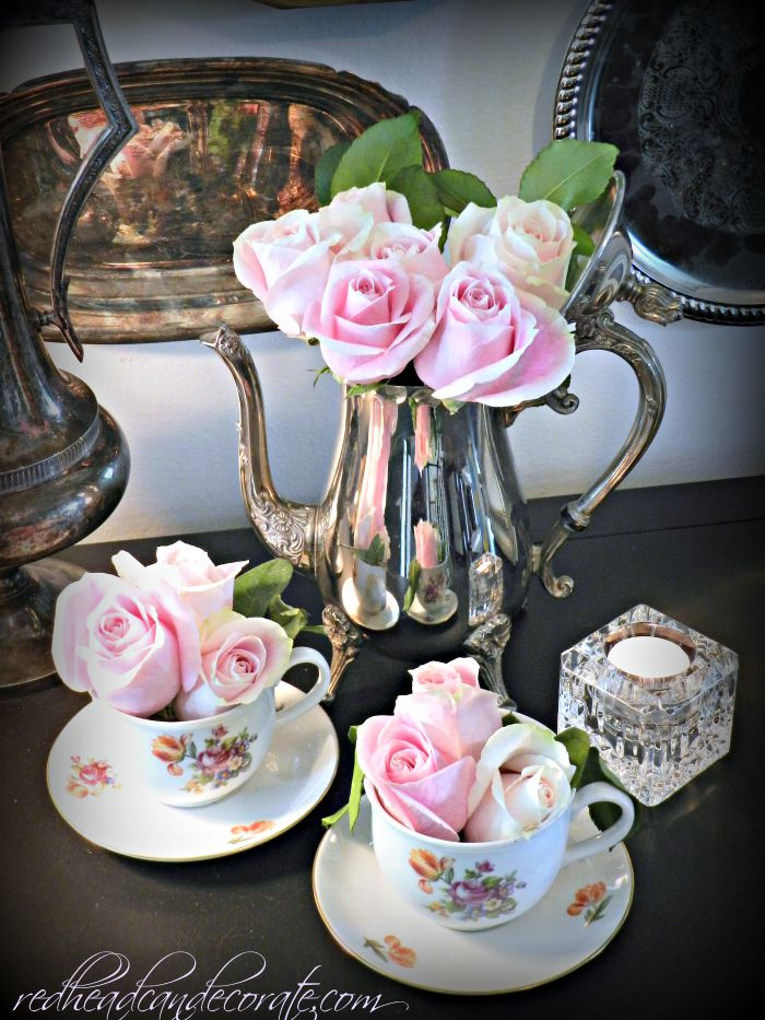 What to do with a thrift store tea set!
